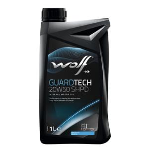 WOLF GUARDTECH  20W50 SHPD 1Lt.