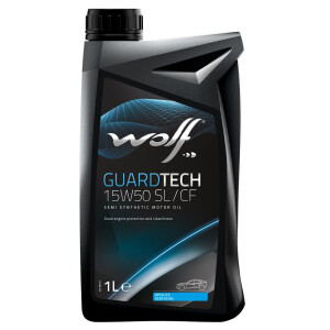 WOLF GUARDTECH 15W50 SL/CF 1 Lt.