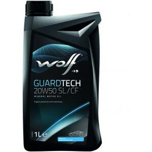 WOLF GUARDTECH 20W50 SL/CF 1 Lt.